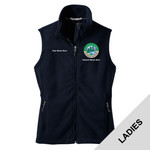 N999 - S1.0 - Emb - L219 - Ladies Fleece Vest