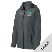 L333 - EMB - Outdoor Ethics Ladies Rain Jacket