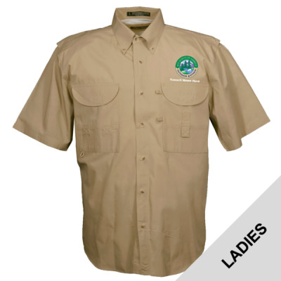 N999 - S1.0 - Emb - FSLSS  - Ladies Field Shirt